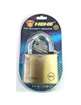 HEHE Top Security Solid brass Padlock 60 MM - With Maximum Security
