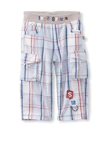 KANZ Baby Cargo Pants (Plaid)