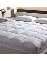 Linenwalas Double Bed Luxury Mattress Enhancer For 5 Star Hotel Feel(BED_024)