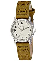 Timex Analog Off-White Dial Women's Watch - T2N9036S