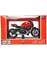 Maisto 2014 Ducati Monster 1200 Scale-1:18 Die Cast Toy Motorcycle (Red)