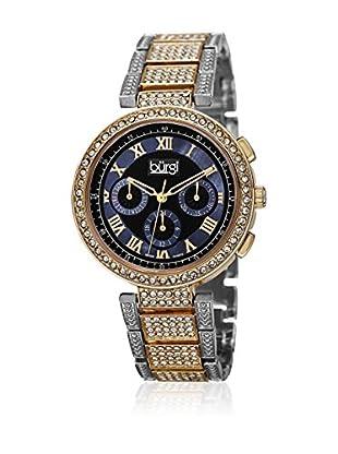 Bürgi Uhr mit schweizer Quarzuhrwerk Woman silberfarben/goldfarben 39 mm