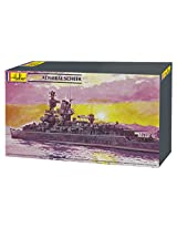 Heller Admiral Scheer Boat Model Building Kit