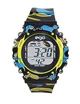 Ego by Maxima Digital Black Dial Men's Watch - E-37191PPDN