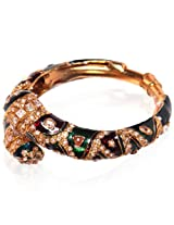 Bubber Beauty Palace Red & Green Brass Bangles for Women (BBP - BPBNGL-389)