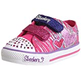 Skechers Girls Shuffles Triple Time Low-Top