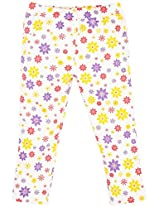 Oye Girls Jegging - Red/Yellow/Purple (2-3Y)