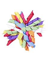 NeedyBee Multicolored Korker Bow Multi (Green, blue, red, yellow)