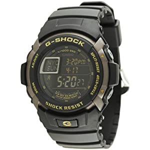 Casio G-Shock Digital Black Dial Men's Watch - G-7710-1DR (G223)