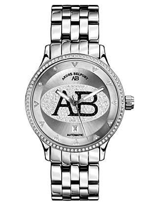 André Belfort Automatikuhr Grande Dame Silber Schwarz silber 40  mm