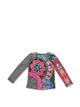 Desigual Camiseta Bismuto (Fucsia Glamour)