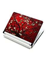 Meffort Inc Meffort Inc 15 15.6 inch Laptop Skin Sticker Cover Art Decal Fits 13.3 14 15 16 Notebook PC (Free 2 Wrist Pad) - Vincent van Gogh Cherry Blossoming