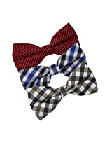 DBE0175 Friendship Designer Microfiber Pre-Tied Bow Tie Shopstyle 3 Pack Bow Tie Set By Dan Smith