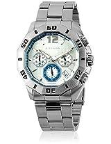 Giordano Analog White Dial Men's Watch - 1498-44
