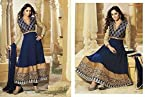Beautiful Blue Designer Anarkali Dress