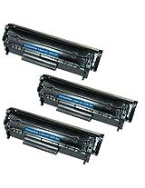 Amsahr TH-Q2612A/160 HP LaserJet 500 Color M551, M575, CE400ABK Compatible Replacement Toner Cartridge