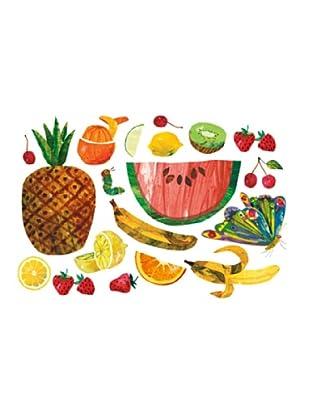 Beiwanda Kids Wandtattoo Die kleine Raupe Nimmersatt - Früchte