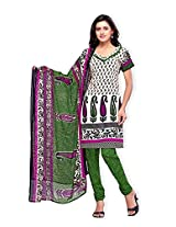 atisundar ravishing White And Green And Pink Traditional Salwar Suit- 5542_27_7265