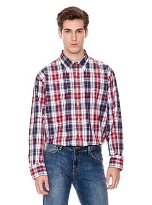 Tommy Hilfiger Camisa (Blanco / Rojo / Azul)