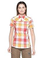 Salewa Camisa Henriette Dry W (Rojo / Naranja)