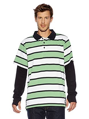 Burton Non Tech Fleece Mb Waffle Polo (astro turf)