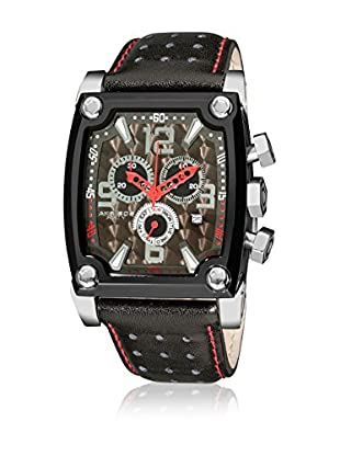 Akribos XXIV Reloj de cuarzo Man AKR415BK Black and Red