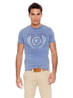 Pepe Jeans London Camiseta Poplar (Azul)