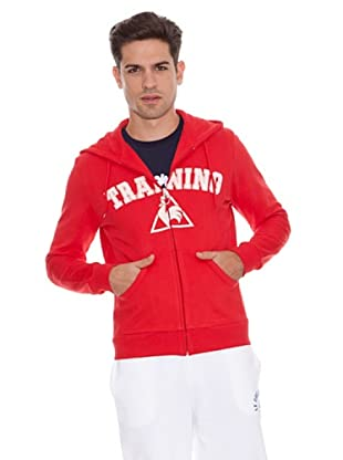 Le Coq Sudadera Training (Rojo)