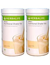 Herbal Life Herbalife Formula 1 Shake 500g Weight Loss - Vanilla Pack of 2