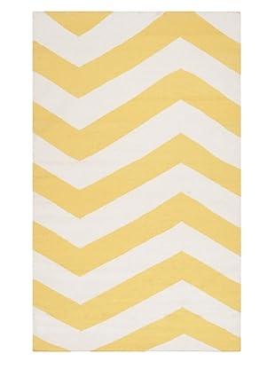 Surya Geometric Frontier Rug (Sunshine Yellow)