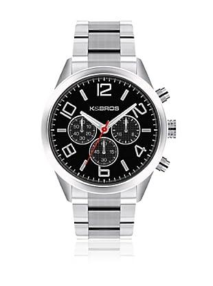 K&BROS Reloj 9482 (Negro)