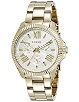 Fossil End of Season Cecile Chronograph White Dial Women's Watch - AM4570I