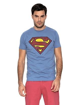 Springfield Camiseta Superman Logo (Azul)