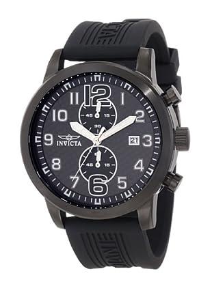 Invicta 11245 - Reloj de Caballero cuarzo poliuretano Negro