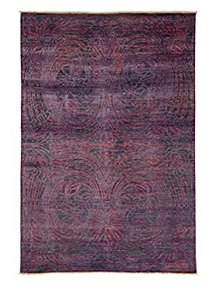 Solo Rugs Ziegler One-of-a-Kind Rug, Purple, 5' 10