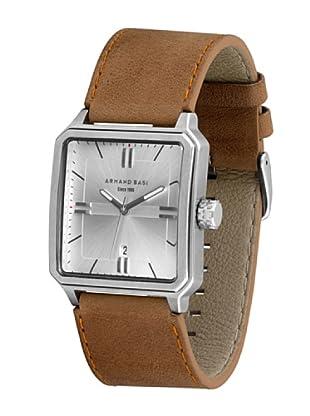 ARMAND BASI A1004G04 - Reloj de Caballero movimiento de cuarzo con correa de piel Camel