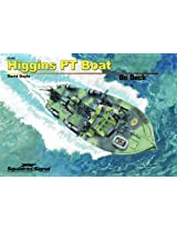 Squadron Signal Publications Higgins PT Boat On Deck Book