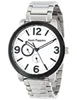 Hush Puppies Men's HP.7127M.1501 Orbz Black Ion-Plated Coated Stainless Steel Bezel 24-Hour Date Watch
