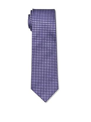 Aquascutum Men's Tie, Purple/Navy