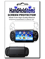Hhi Sony Playstation Ps Vita Dual Crystal Clear Screen Protector (Front And Back Protector) (Package Include A Hand Helditems Sketch Stylus Pen)