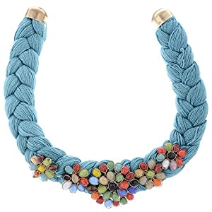 The Crazy Neck Braided Thread Chokha Necklace