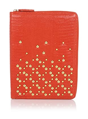 Be & D Women's Studded iPad Case (Red/Orange)