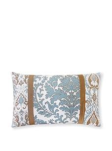 """Jiti Turkish Pieces 12"""" x 20"""" Pillow, Aqua Multi"""