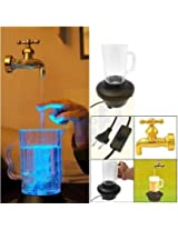 Uniek Deals LED Magic Faucet Mug Water Fountain Night Light Ornaments+ Free Uniek Deals Branded key ring