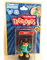 Disney Parks Perry the Platypus Agent P Tagalong Plastic Figurine NEW