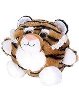 Wild Republic Fuzzball Tiger Plush