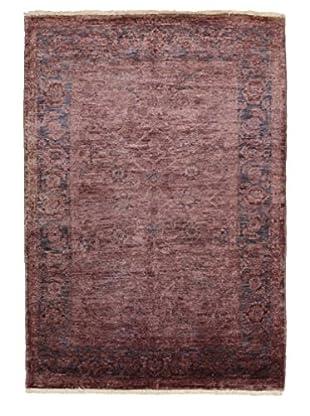 Darya Rugs Modern Oriental Rug, Lilac, 4' 1