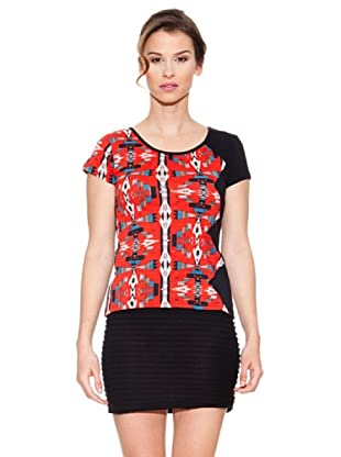 Mahal Camiseta Étnico (Rojo)