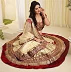 Attractive and Dazzling Embroidered Lehnga Choli