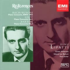 Lipatti : Lipatti / Liszt / Bartok